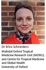Dr Mira Schneiders, University of Oxford