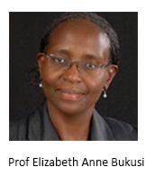 Prof Elizabeth Anne Bukusi AB