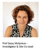 Prof Sassy Molyneux Kenya