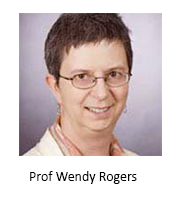 Prof Wendy Rogers AB